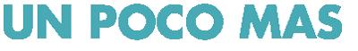 Un Poco Mas Sticky Logo Retina